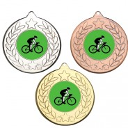 Cycling Stars and Wreath Medals