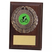 Shannon Cherrywood Plaque with Cycling Insert