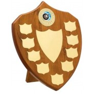 Maple Budget Presentation Shield