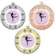 Dance Tri Star Medals