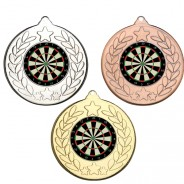 Darts Stars and Wreath Medals