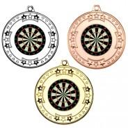 Darts Tri Star Medals