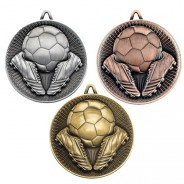 Football Deluxe Medal 60mm