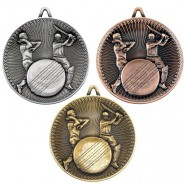Cricket Deluxe Medal 60mm