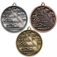 Swimming Deluxe Medal 60mm