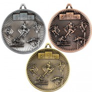 Athletics Deluxe Medal 60mm