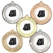 Dominoes Wreath Medals