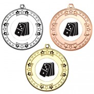 Dominoes Tri Star Medals