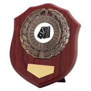 Meath Mahogany Plaque with Dominoes Insert