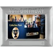 40th Birthday Metal Photo Frame