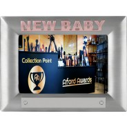 New Baby Pink Metal Photo Frame