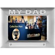 My Dad Metal Photo Frame