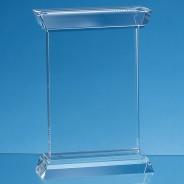 Optical Crystal Portunus Mounted Rectangle Award