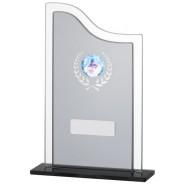 Black Smoked Glass Award