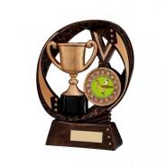 Typhoon Achievement Award with Gymnastics Insert