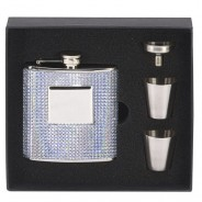 Vision Bling 6oz Flask with