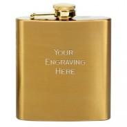 Vision Flask Satin Brass