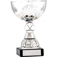 Silver Cup Trophy with Ice Hockey Insert