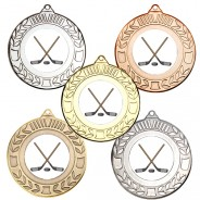 Ice Hockey Wreath Medals