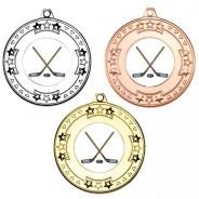 Ice Hockey Tri Star Medals
