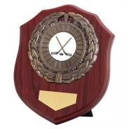 Meath Mahogany Plaque with Ice Hockey Insert