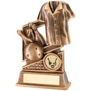 Bronze/Gold Ten Pin Diamond Series Trophy