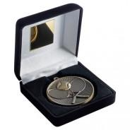 Black Velvet Box and 60mm Tennis Medal