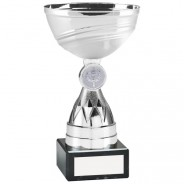 Silver Mini Diamond Stem Trophy