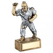 Bronze / Pewter Darts 'Beast' Figure Trophy
