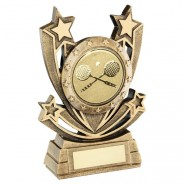 Bronze/Gold Shooting Star Series With Squash Insert Trophy