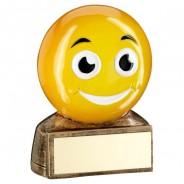 Yellow Smiling Emoji Trophy