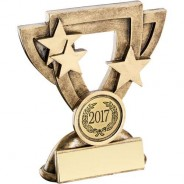 Bronze/Gold Generic Mini Cup Trophy