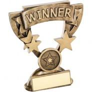 Bronze/Gold Winner Mini Cup Trophy