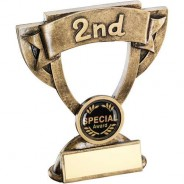 Bronze/Gold Mini Cup Trophy - 2nd