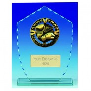 Varsity Boxing Glass Trophy
