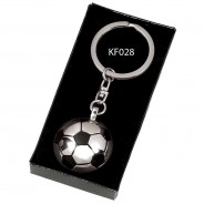Crown-Football Key Ring
