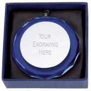 Alaska Blue Glass Medal