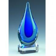 Turner Blue Art Glass