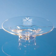 Handmade Bubble Base Shallow Bowl