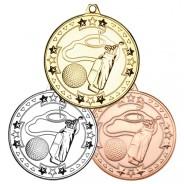 Golf 'Tri Star' Medal