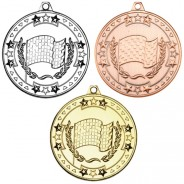 Motor Sport 'Tri Star' Medal