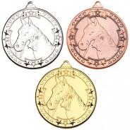 Horse 'Tri Star' Medal
