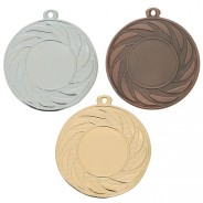 """Multisport 50mm Medal with 1"""" Centre Insert"""