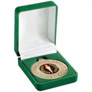 Deluxe Green Medal Box