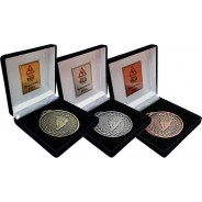 65mm Karting Medal Set with Presentation Boxes