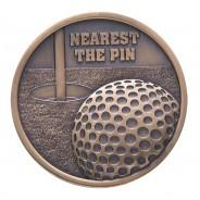 Links Series Golf Nearest The Pin Medal
