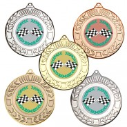 Motorsport Wreath Medals