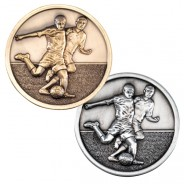 Football Players Medallion 70mm