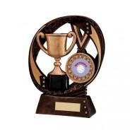 Typhoon Achievement Award with Netball Insert