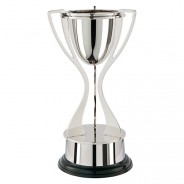 Alnwick Tri Handle Nickel Plated Cup